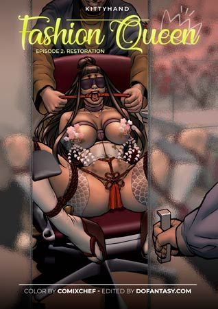 Fashion Queen 2, bdsm comics by Kitty Hand