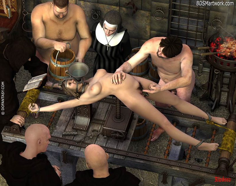 Inquisition, 3d bdsm by Riodoro