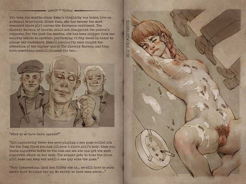 The house of tears part 2 Emma's ordeal, bdsm by Ted Owen